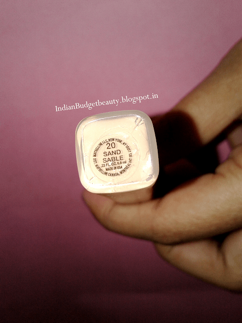 maybelline fit me concealer 20 review