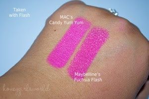 Mac Candy Yum Yum dupe