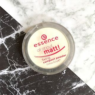 essence all about matt fixing compact powder review