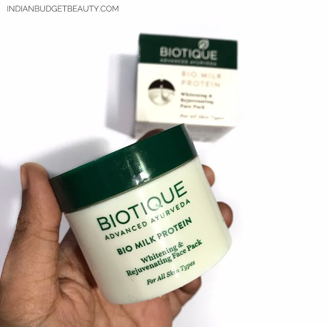 biotique bio milk protein face pack review