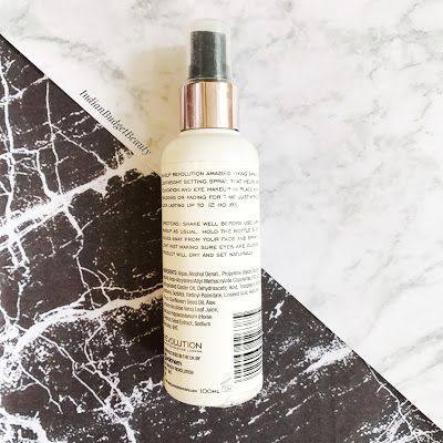 makeup revolution pro fixing spray