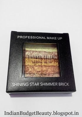 sivanna colors shining star shimmer brick review