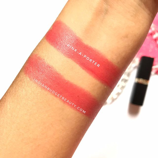 L'Oreal Paris 'Pink-a-porter' swatches