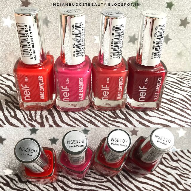 nelf usa nail polish review