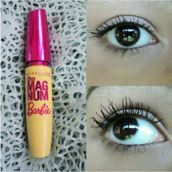 3b6f77f94cf Maybelline New York Magnum Barbie Mascara REVIEW - Indian Budget Beauty