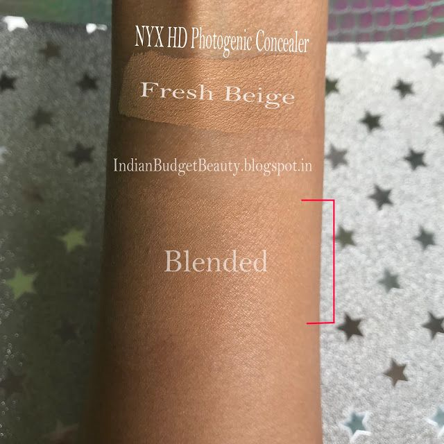 nyx concealer hd review