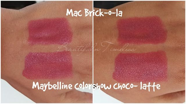 MAC Brick-o-la dupe