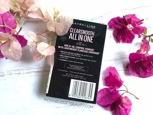 maybelline clear smooth two way cake review