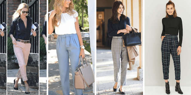 how to style formal pants