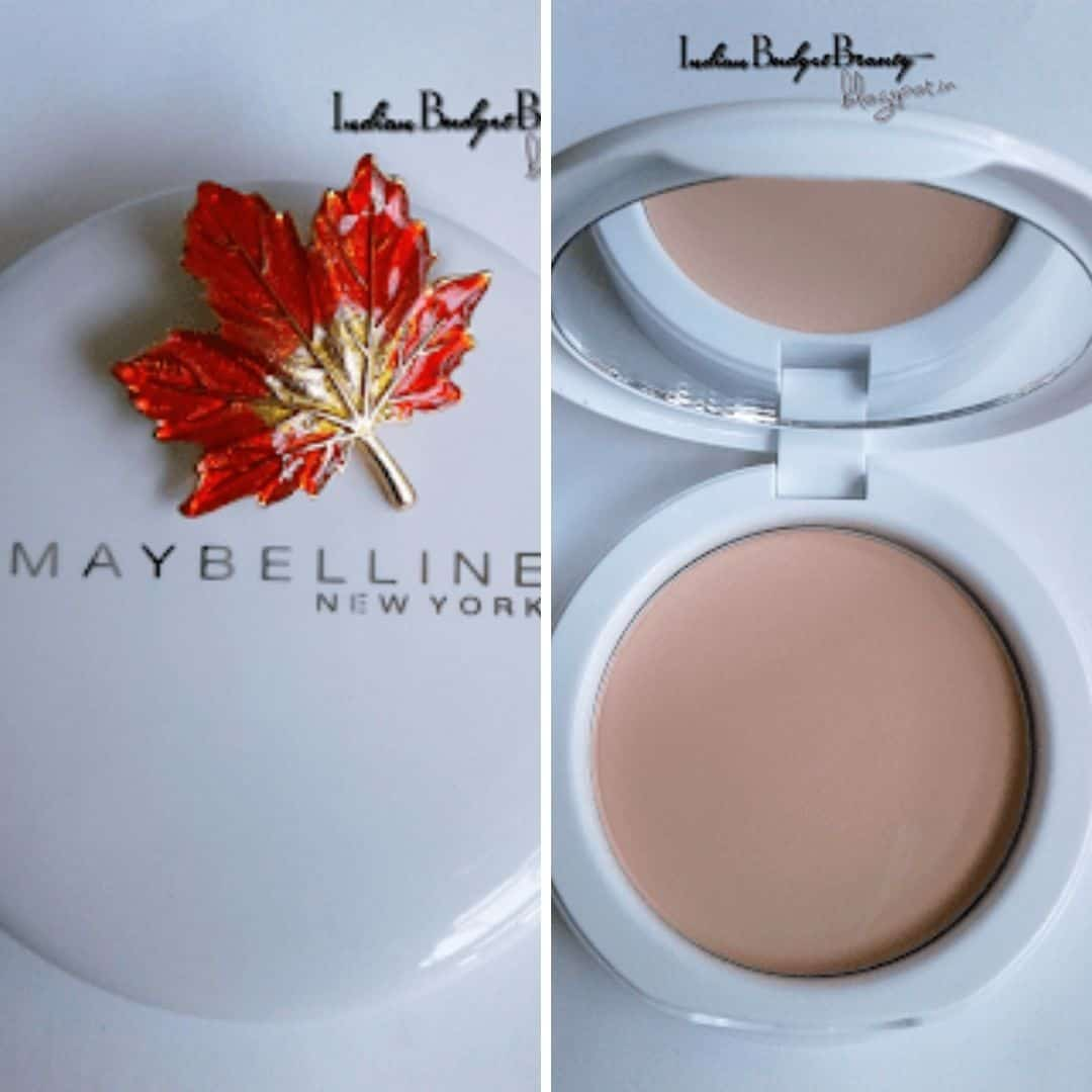 Maybelline New York White Super Fresh Compact Review   Pearl