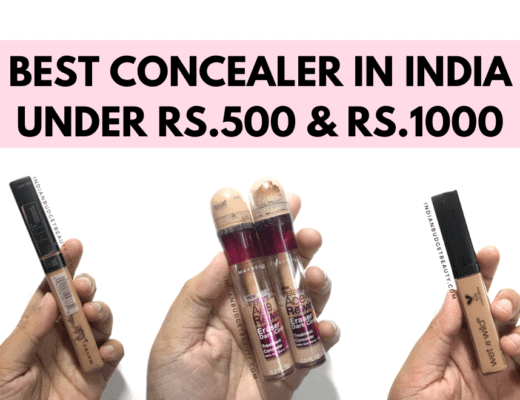 Best Concealers In India Under Rs.500 & Under 1000