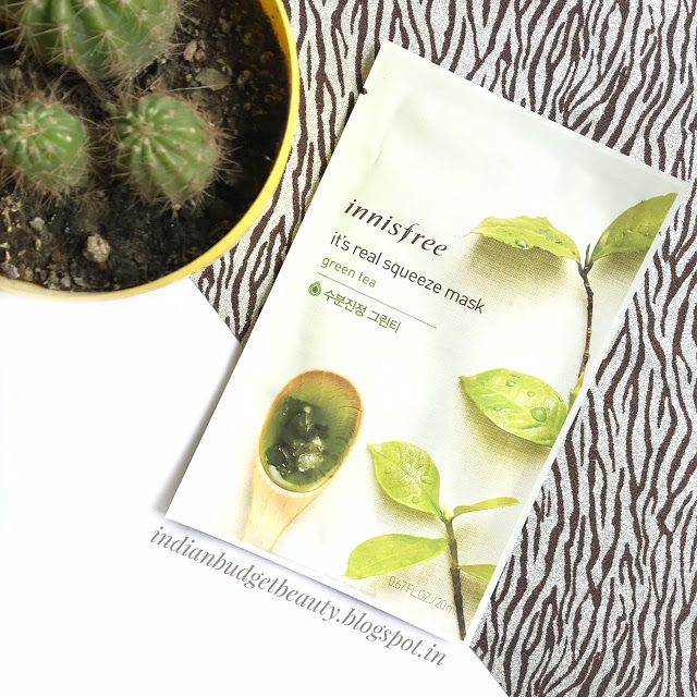 innisfree its real squeeze mask review