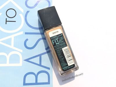 Maybelline Fit Me Matte Poreless Foundation review