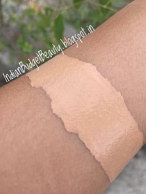 maybelline fit me foundation swatches