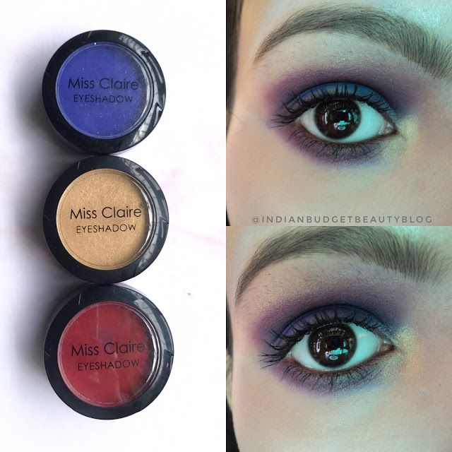 miss claire eyeshadow review