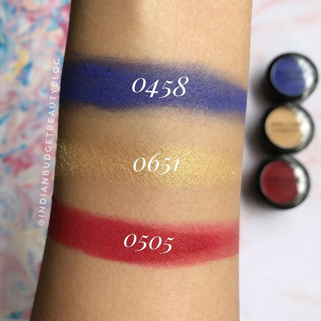 miss claire single eyeshadow swatches