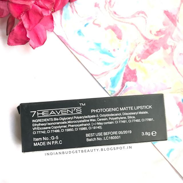 7 heaven lipstick price