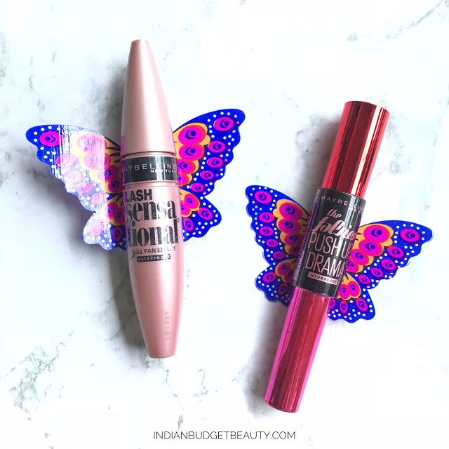 maybelline lash sensational vs push up drama mascara