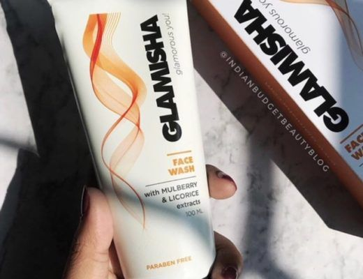 Glamisha Face Wash With Mulbery & Licorice Extract Review