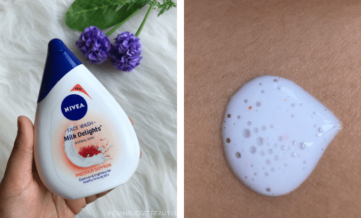 Nivea Milk Delights Precious Saffron Face Wash Review