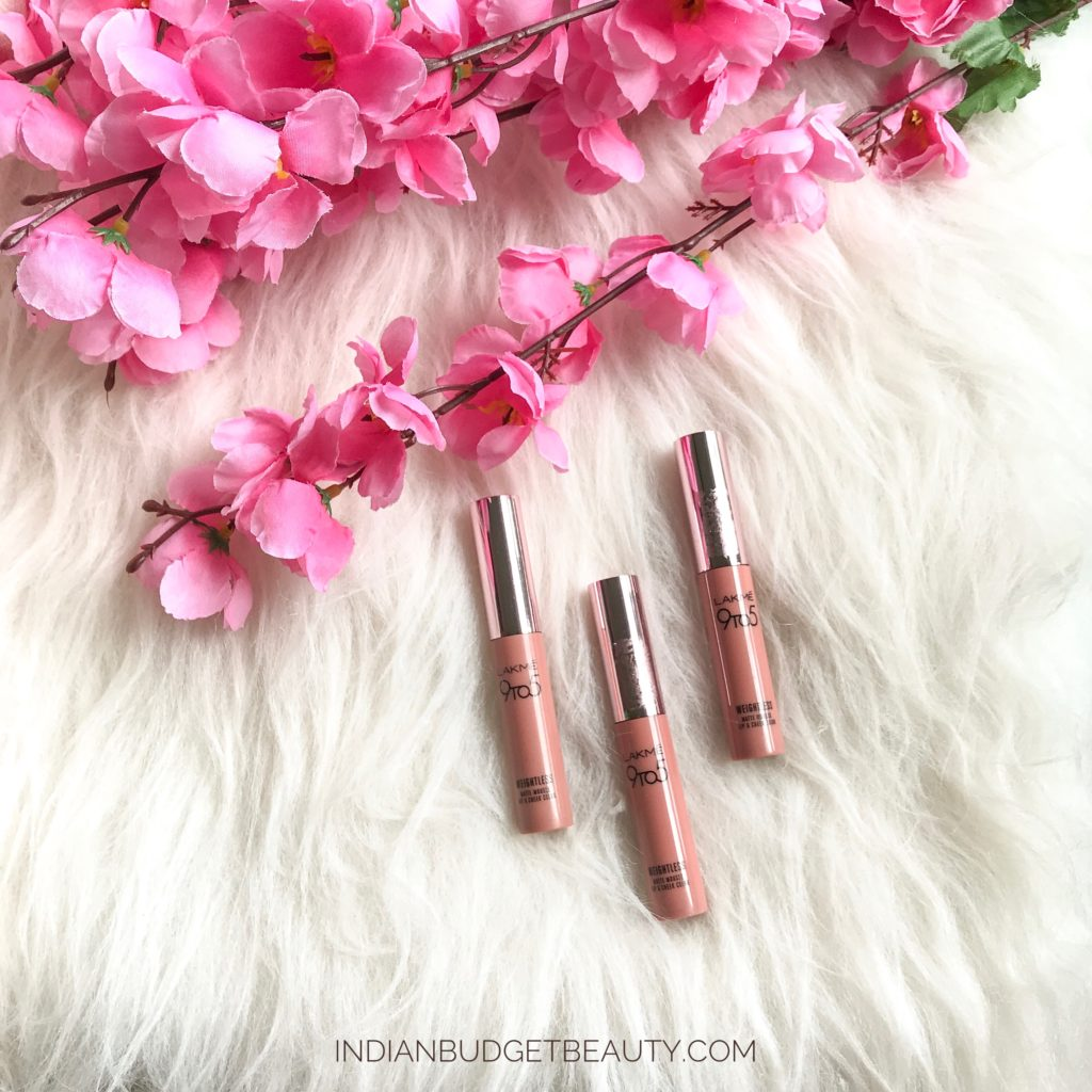 lakme lip and cheek color review coffee lite rose touch crimson silk review swatches 3
