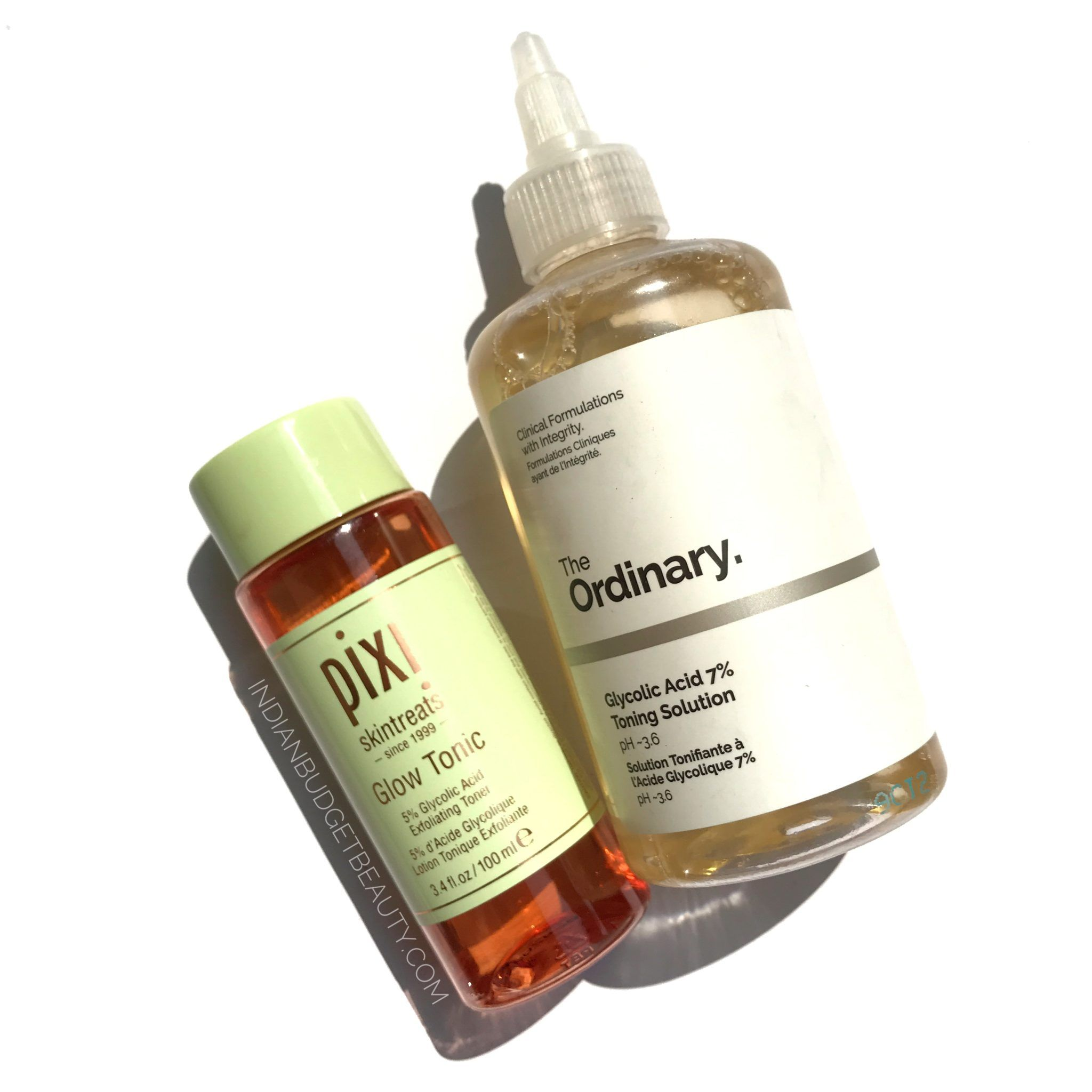 Pixi Glow Tonic vs the ordinary glycolic acid