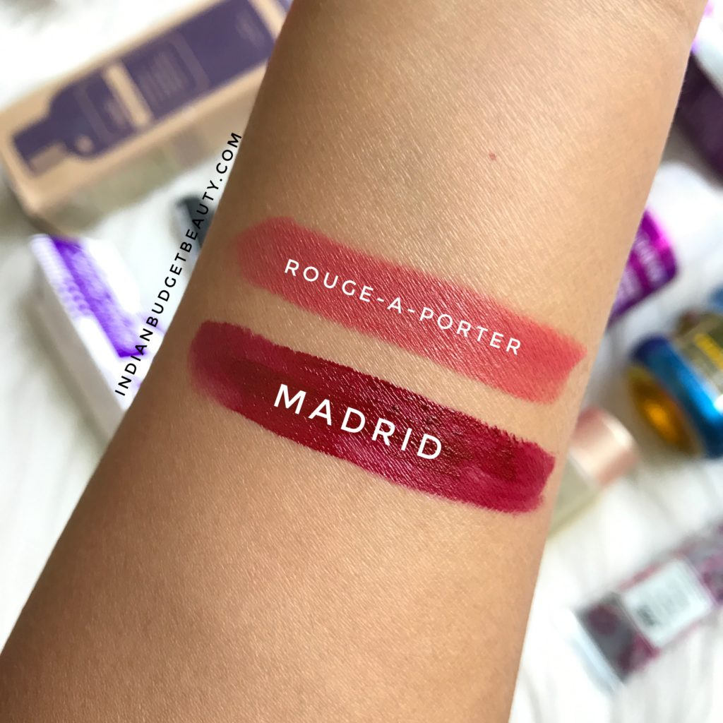 nyx smlc madrid loreal rouge a porter swatch