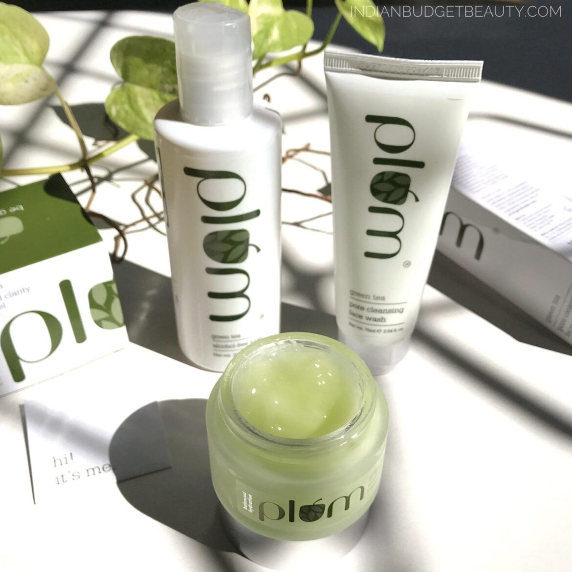 plum green tea range review