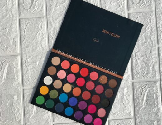 beauty glazed color studio eyeshadow palette review