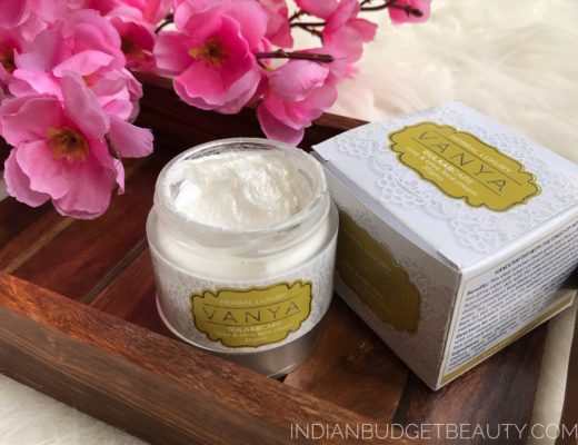 vanya herbals rose and olive face cream