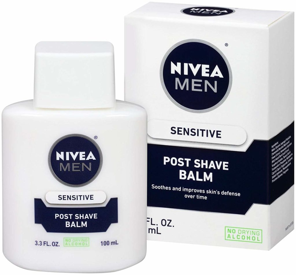 Nivea for Men Sensitive After Shave Balm primer