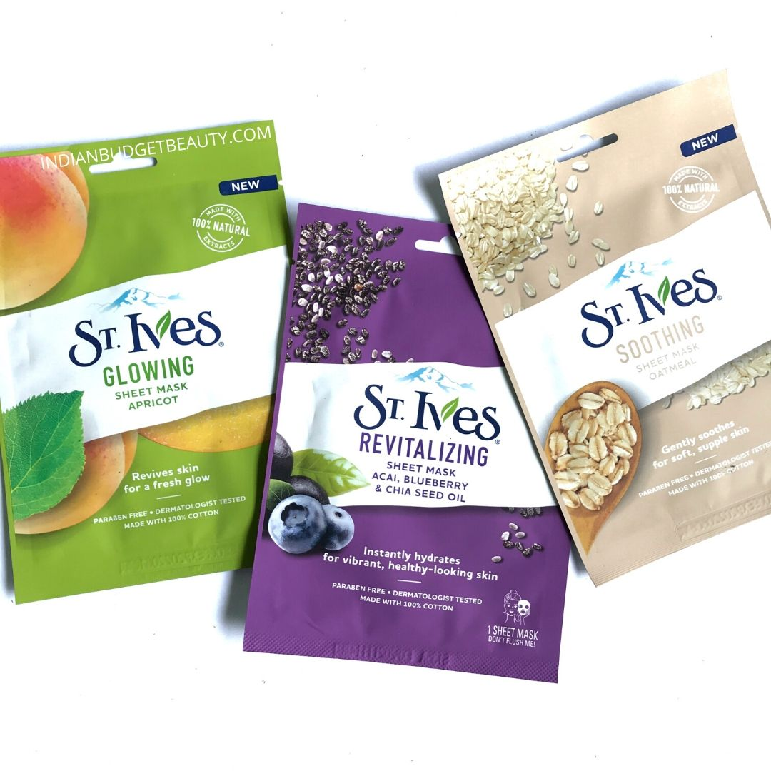 st ives sheet mask review