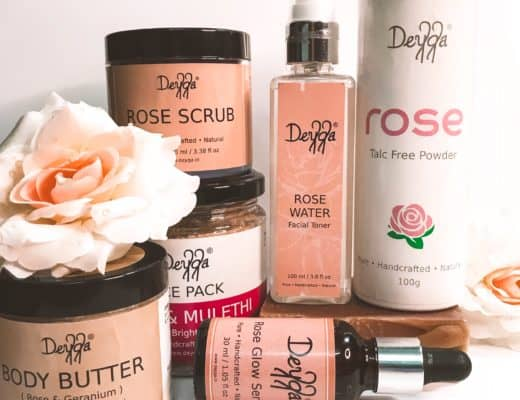 deyga organics rose glow kit review