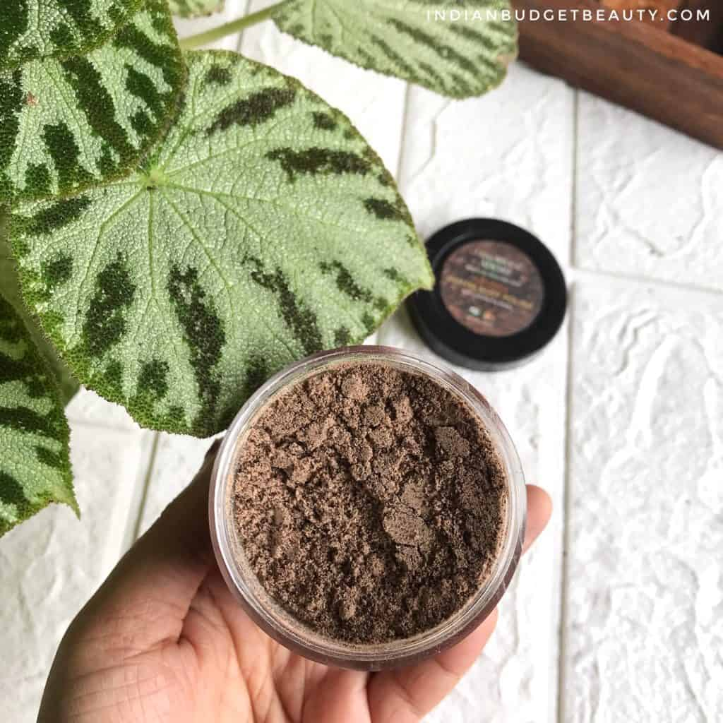 luxurious adore arabica coffee body polish review