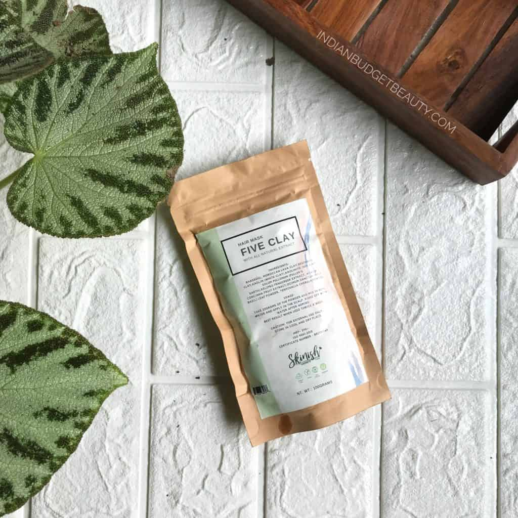 Skinish Five Clay Hair Mask Review