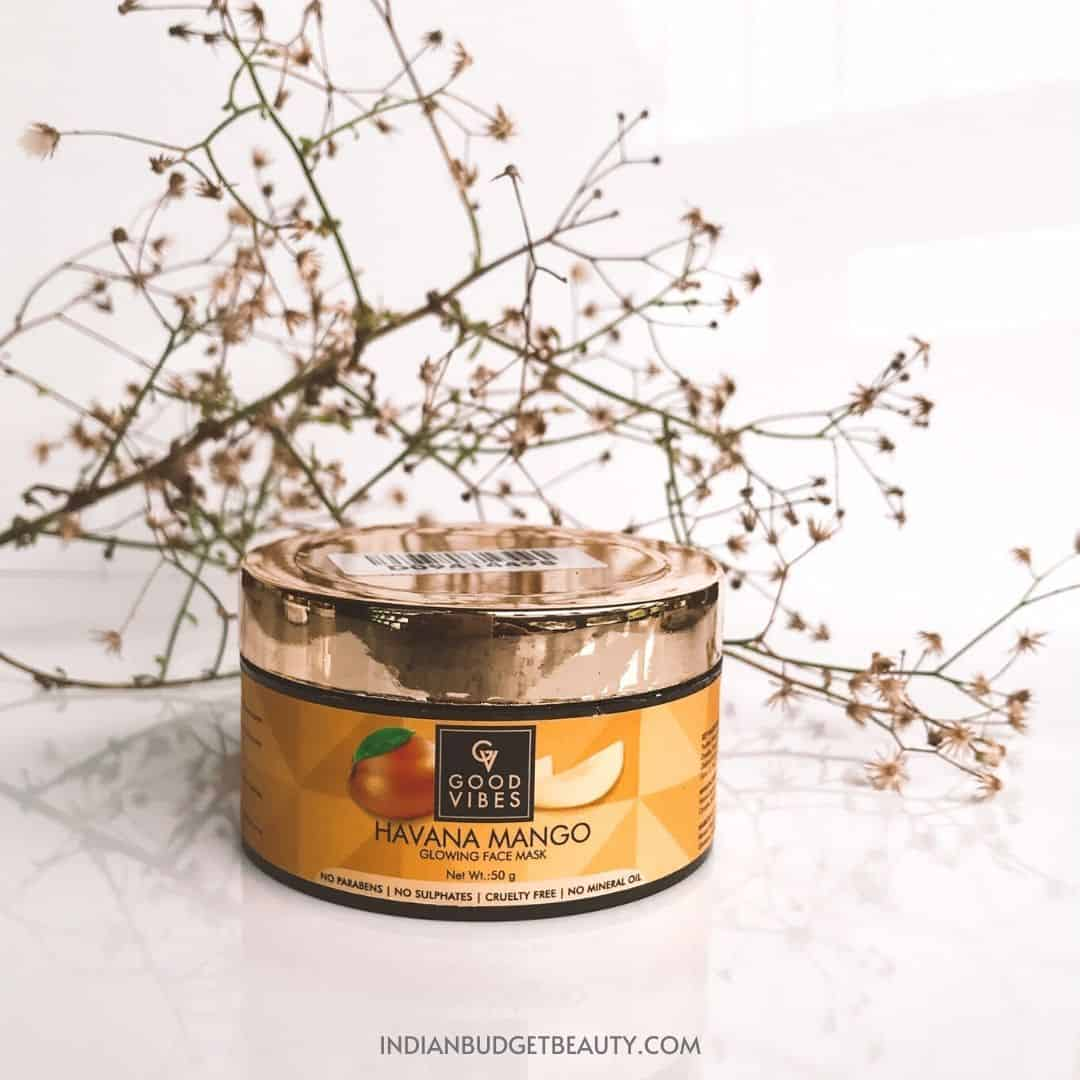 Good Vibes Havana Mango Mask Review