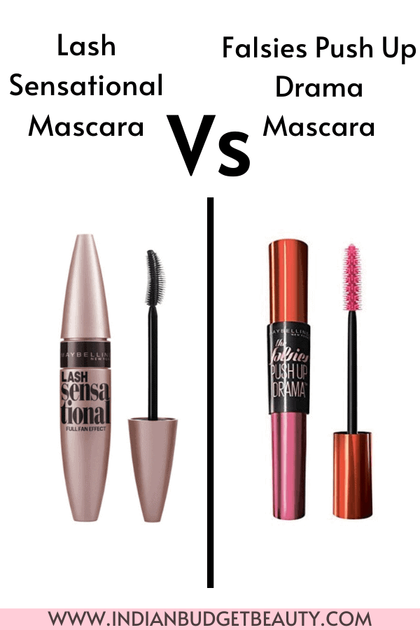 maybelline lash sensational mascara vs falsies