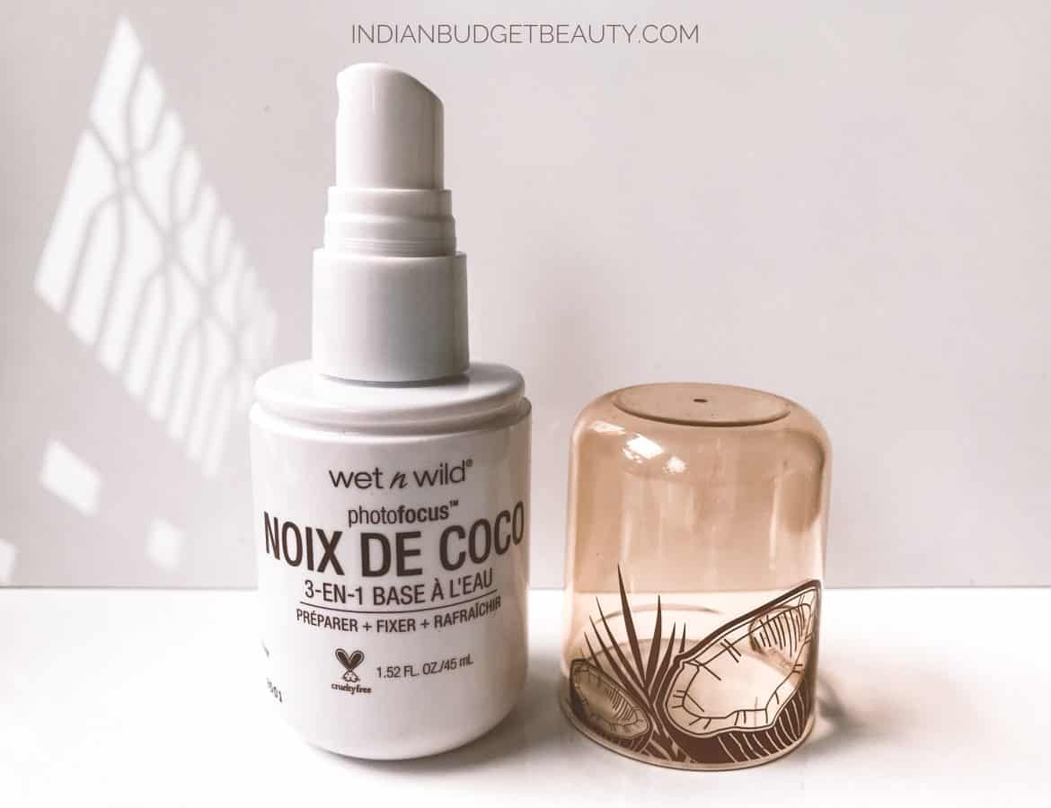 wet n wild coconut primer water review