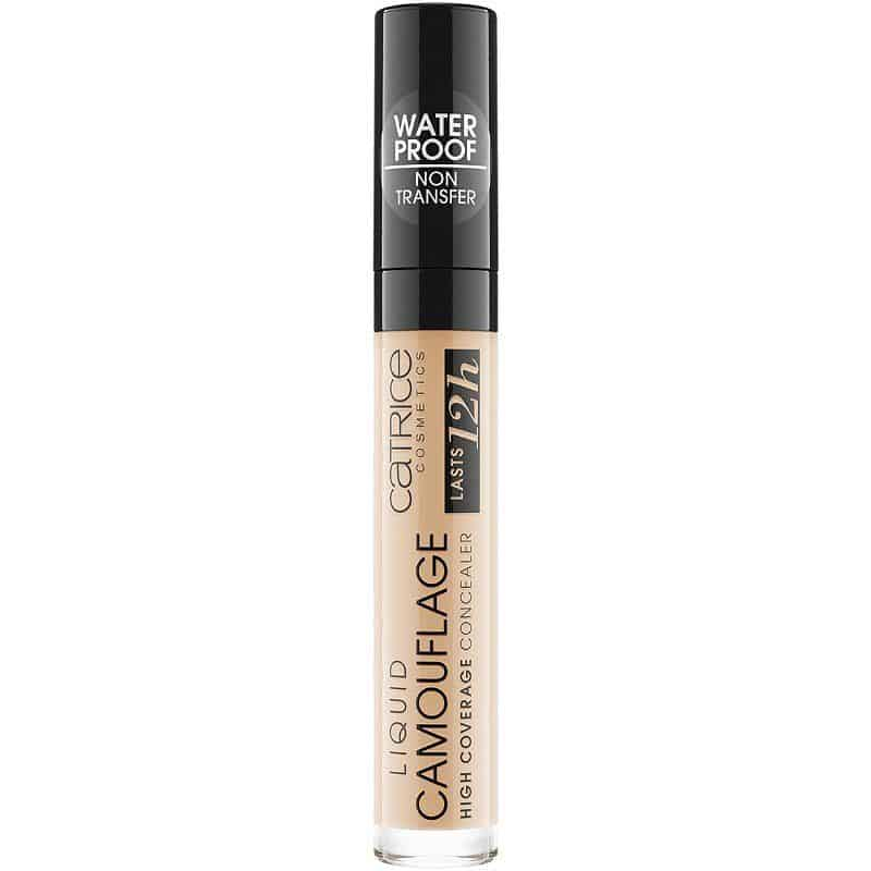Catrice Liquid Camouflage Concealer - tarte shape tape dupe