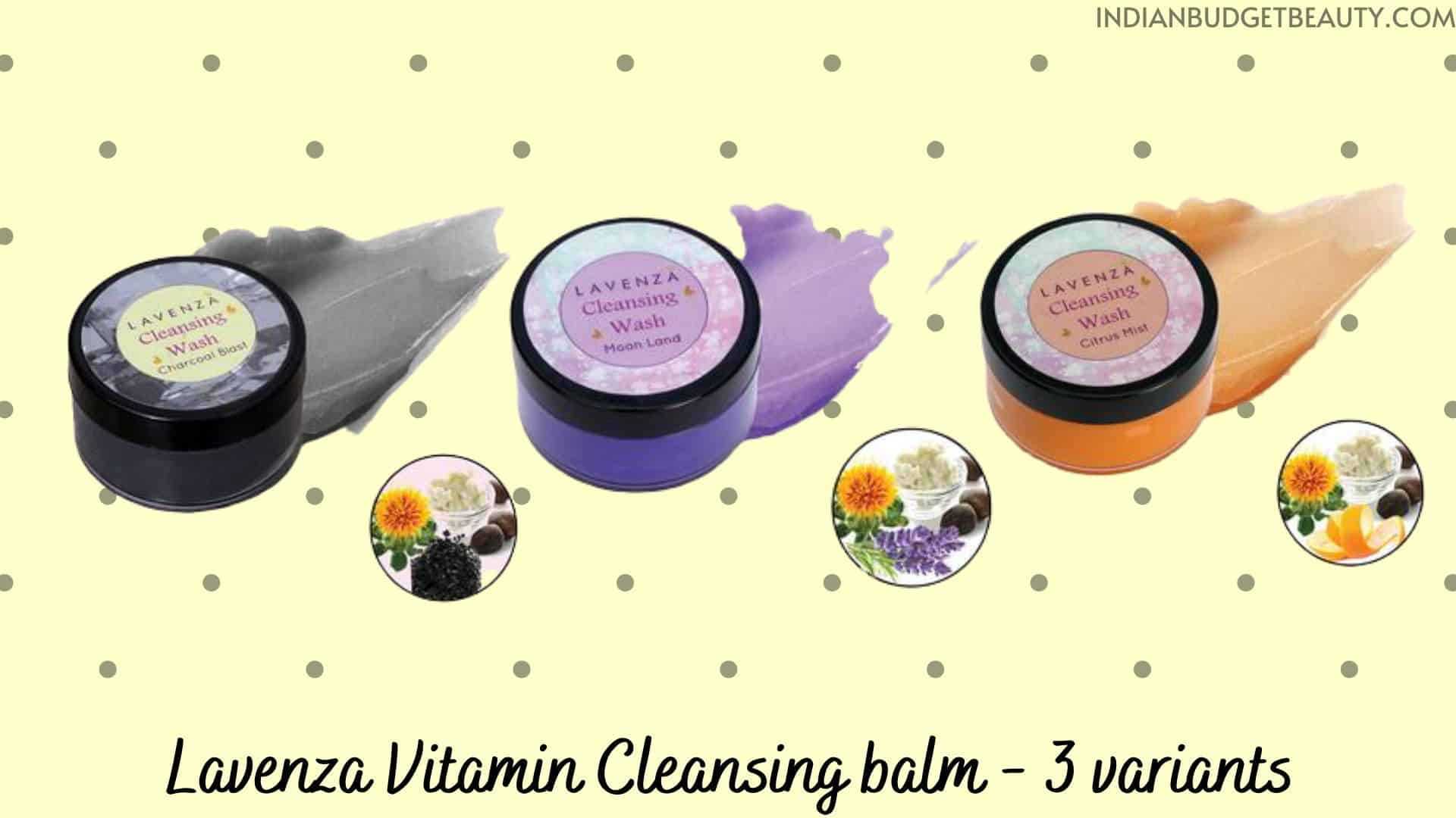 Lavenza Cleansing balm | best cleansing balm in india