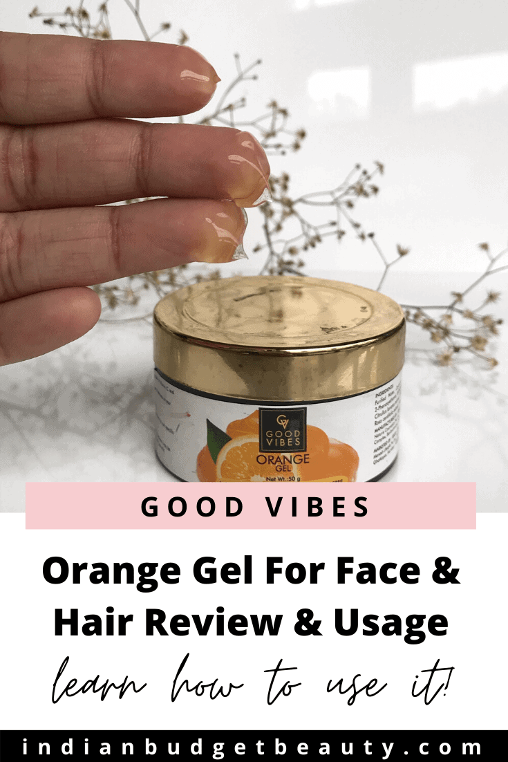 Good Vibes Orange Gel Review