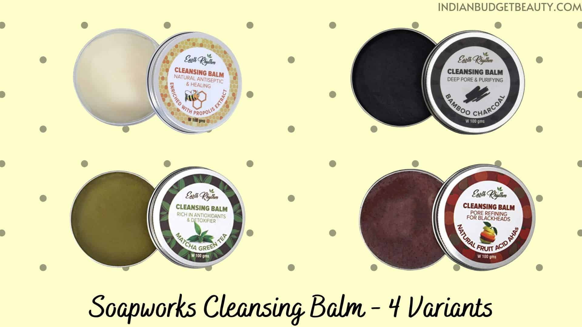 Soapworks Cleansing Balm review | best cleansing balm in india