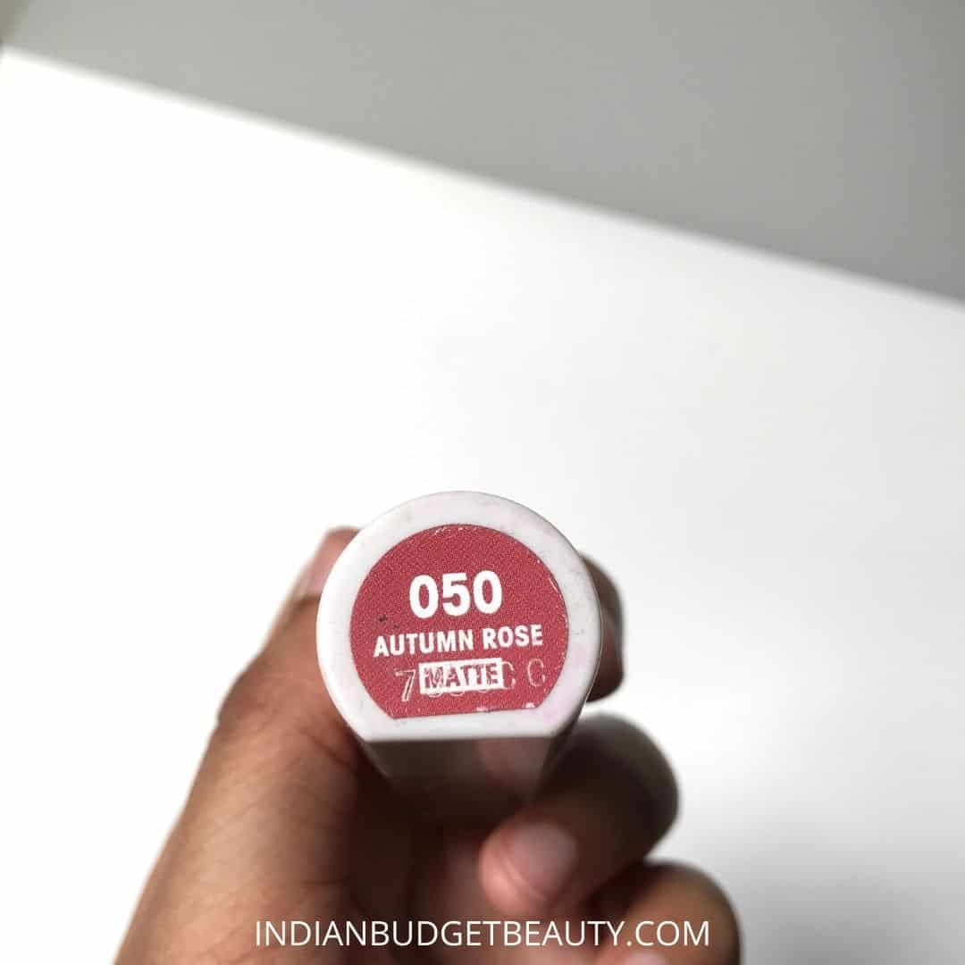 flower beauty autumn rose petal pout lip color review swatches 3