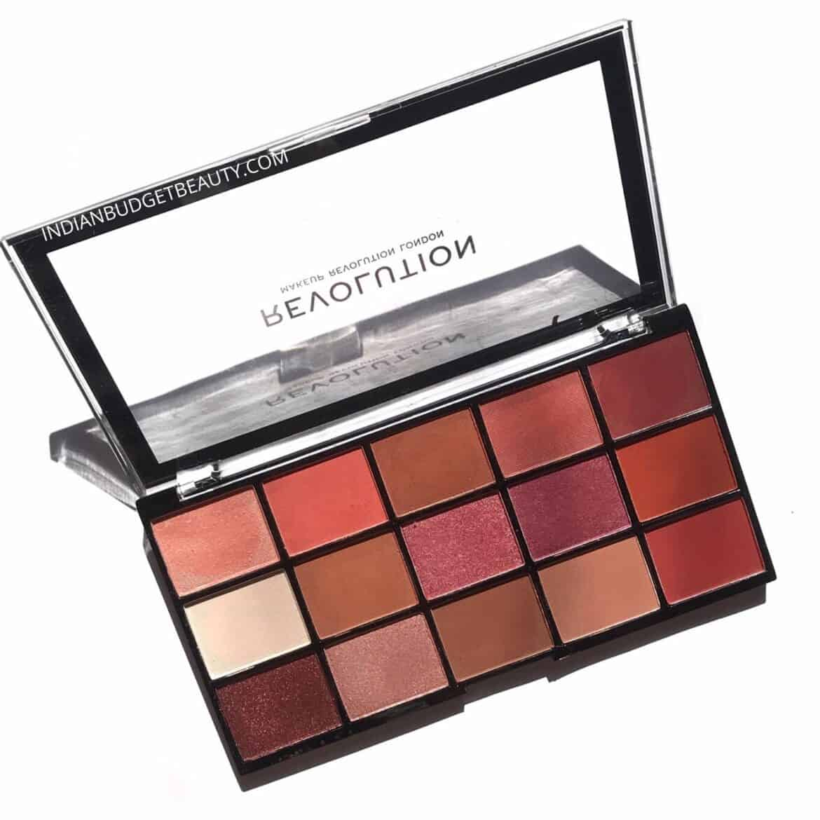 Makeup Revolution Reloaded Palette Newtrals 2 Review and Swatches
