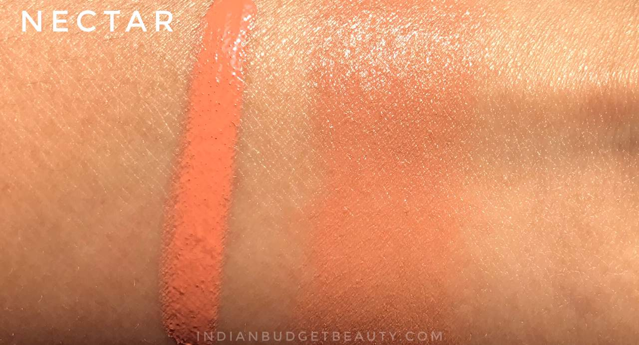 flower beauty blush bomb swatches