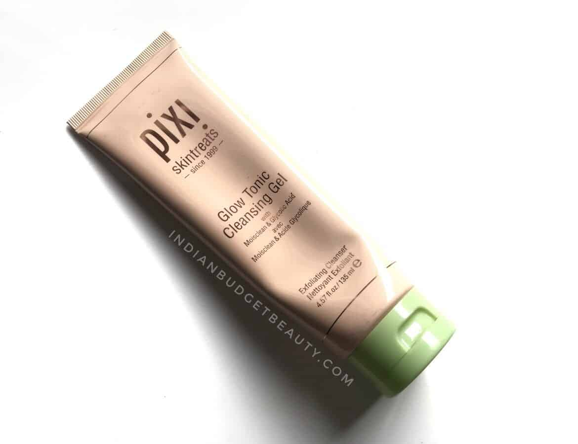 pixi glow tonic cleansing gel review