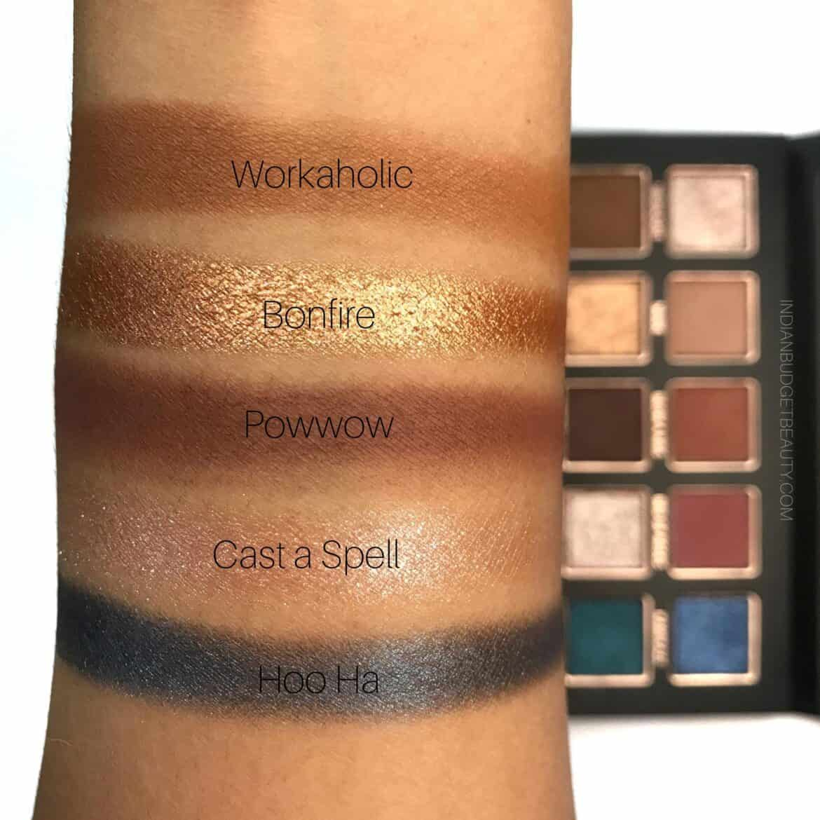 Tann Beauty This Is All I Need Eyeshadow Palette Swatches