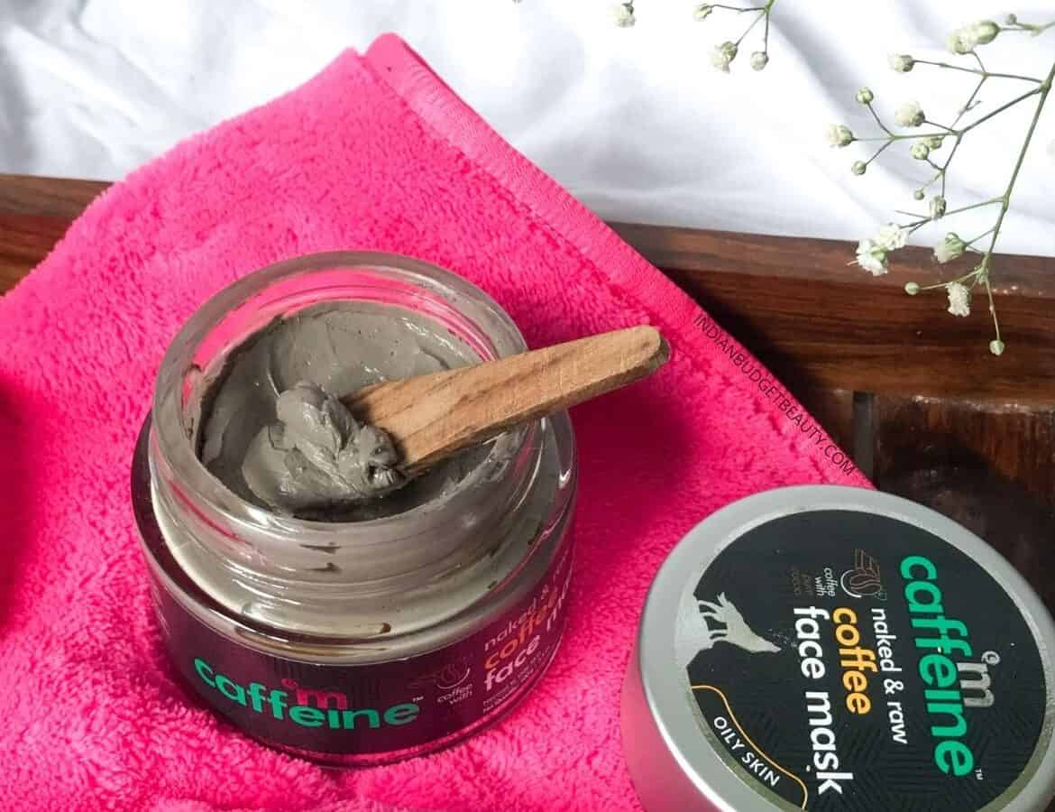 mCaffeine Naked Raw Coffee Face Mask review