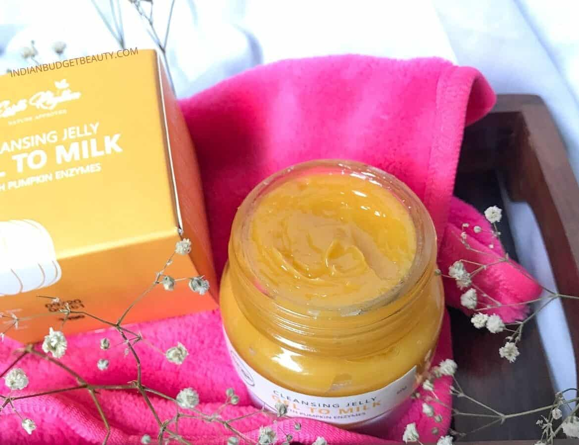 Earth Rhythm Gel To Milk Cleanser  Review