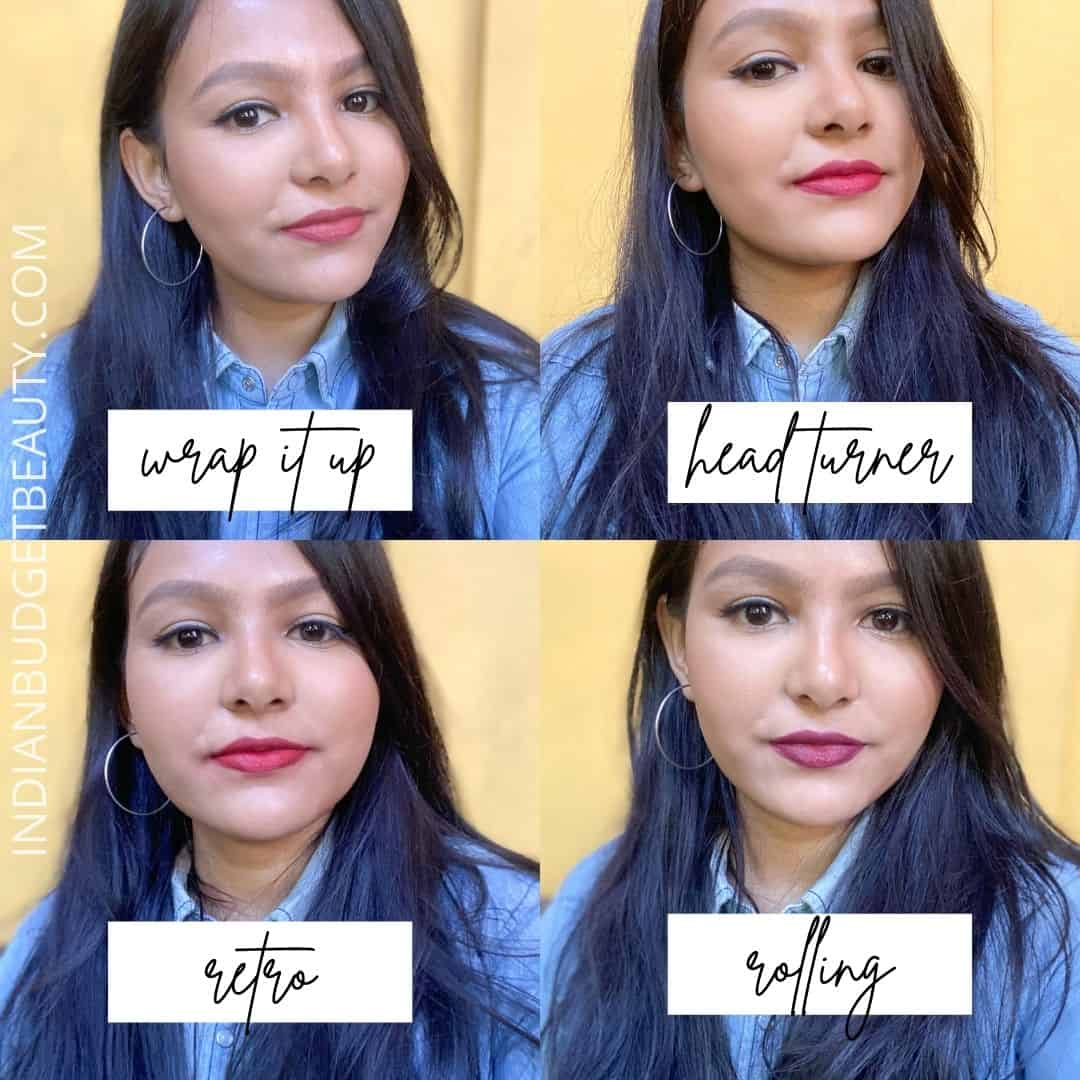 kay beauty lipstick swatches